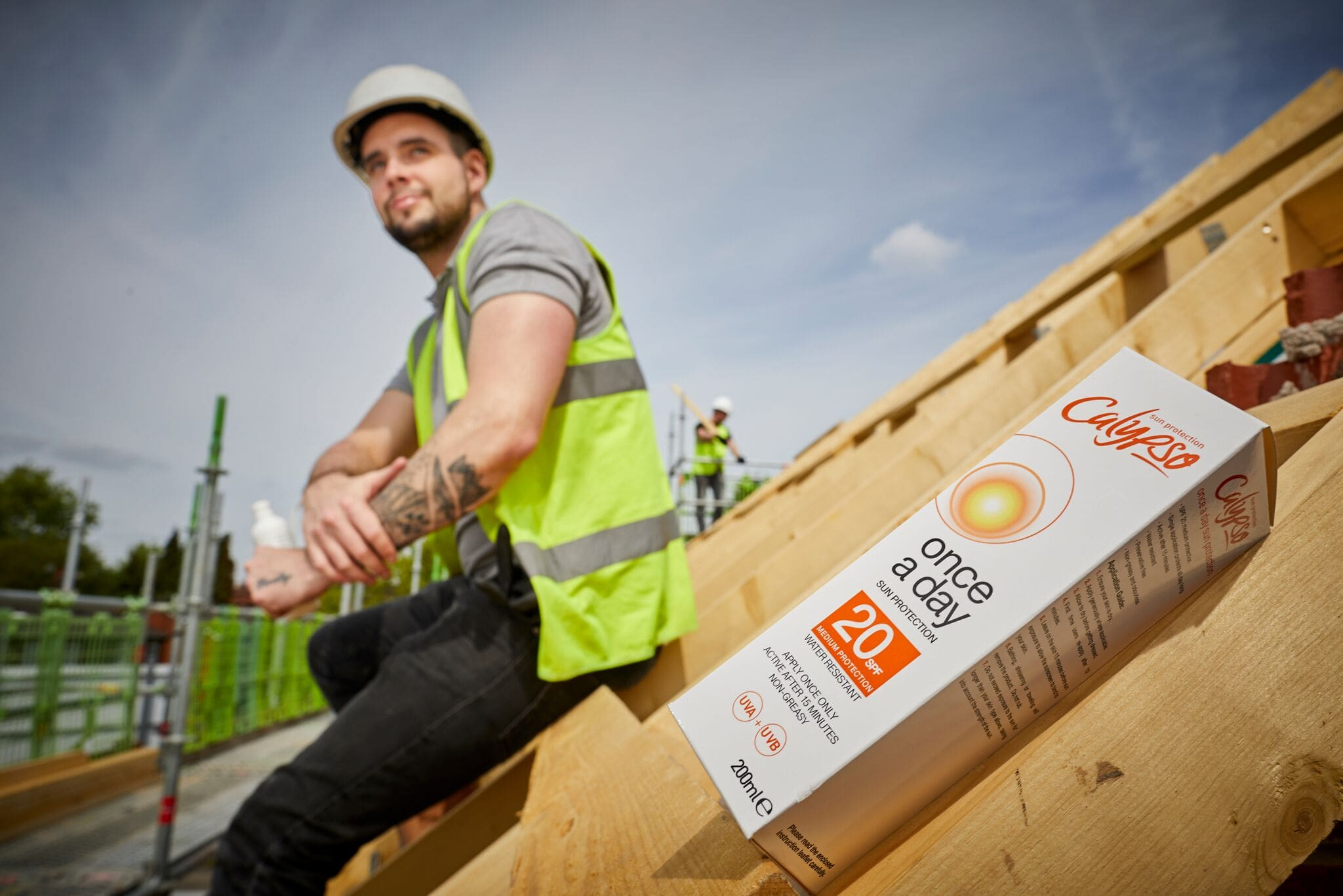 Bracknell Roofing launch campaign to promote sun safety.